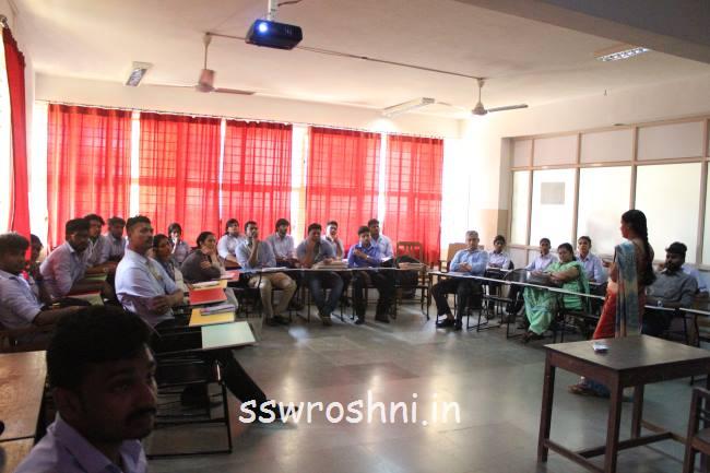 Interactive Session On Crime Scene Investigation Ssw Roshni