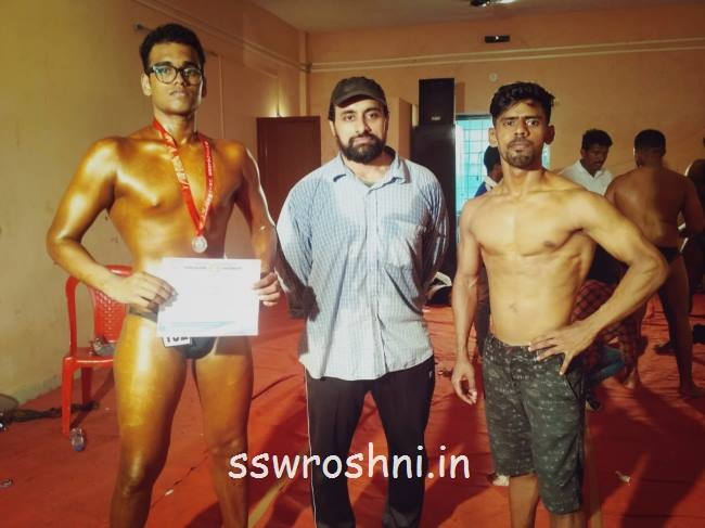 "Owin Lancy D'Souza secured the Silver Medal in the Intercollegiate ""Best Physique "" Competition"