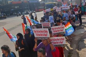 Raising our voices to bring Justice - Protest against the rape case of Dr. Priyanka Reddy