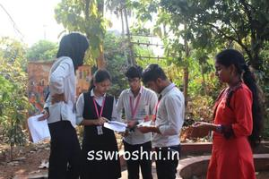 To think, speak and act the Right Way - Treasure Hunt and Debate Competition held
