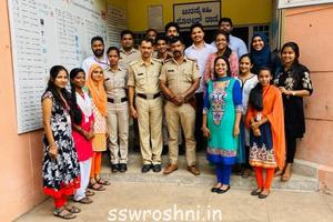 Knowing our Police Personell - Exposure Visit to Mangaluru South Police Station